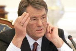 Yushchenko to ban privatization of gas transport system