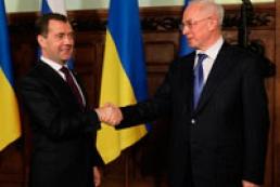 Azarov, Medvedev discuss gas issue