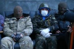 Озброєні люди захопили райвідділ міліції в Слов'янську